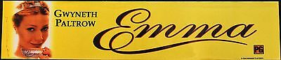 Emma, Large (5X25) Movie Theater Mylar Banner/Poster