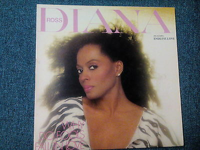Diana Ross: Why Do Fools Fall In Love Vinyl Album