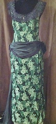 Ladies Victorian Bustle Dress Western or other Re-enactment