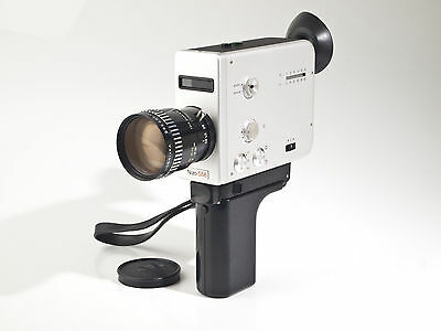 Nizo S55 -  Super 8 Movie Camera - Variogon 1.8 / 7-56mm - tested - exc.+