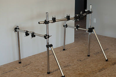 Gibraltar Drum Rack, Cymbal Stand, Tom Stand.