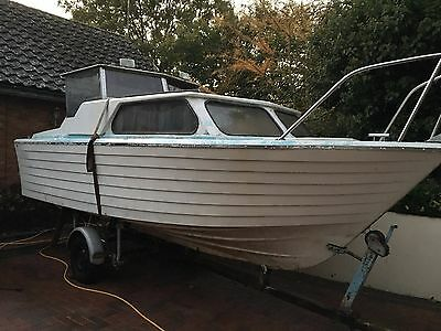 Teal Norman Project Boat Cabin Cuddy Cruiser Broads Canal