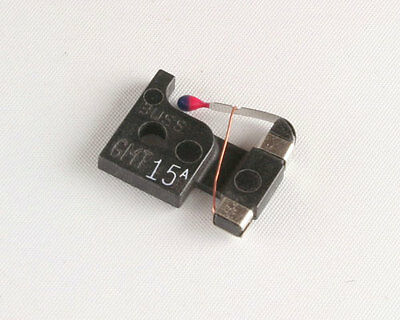 GMT-15 Fast-Acting Indicating Telecom Fuse 15A Amp Bussmann 25 pcs. AA55509-018