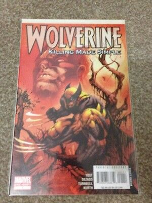Marvel Comics -wolverine killing made simple #1 - One Shot - Great Condition
