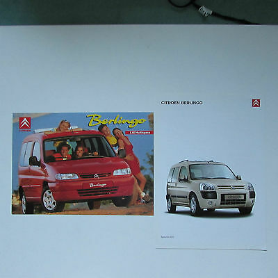 Citroen Berlingo Brochures x 2