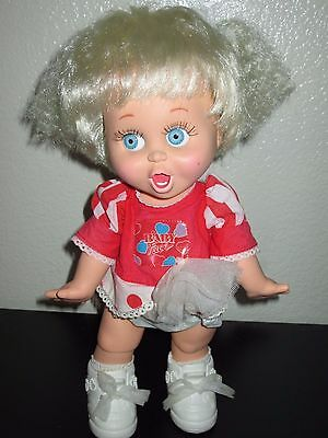 Vintage 90's Galoob So surprised Suzie baby face poseable doll
