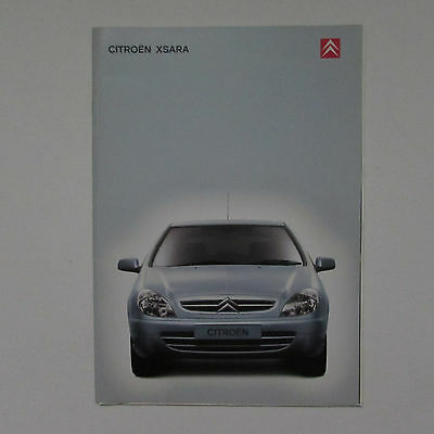 Citroen Zsara Brochure including VTS (2001) plus Specification Brochure