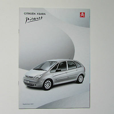 Citroen Xsara Picasso Brochure (French) - 2001