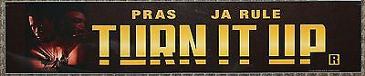 Turn it Up, Large (5X25) Movie Theater Mylar Banner/Poster