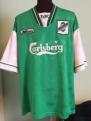 Official Retro Hibernian Home Football Shirt By Mitre Size Uk Adult Large