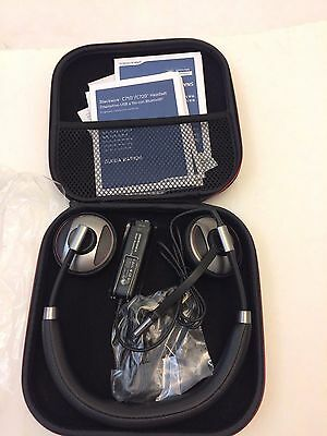 Plantronics Blackwire C720-M Silver/Black Headband Headsets