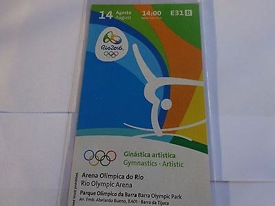 Rio 2016 Olympic Games GYMNASTICS TICKETS 14th Aug. MAX WHITLOCK DOUBLE GOLD !!