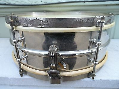 Vintage Ludwig & Ludwig 14 X 5 Snare Drum with Case & More Must See! No Reserve!