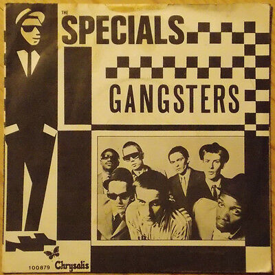 """The Specials Gangsters rare Dutch picture sleeve 7"""" 2 Tone The Selecter"""