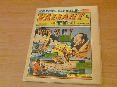 Valiant and TV21 Comic  3rd October 1971