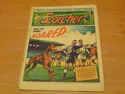 Scorcher Comic  6th February 1971