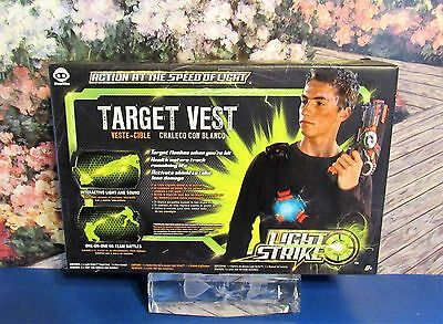 New WowWee LIGHT STRIKE Laser Tag Target Vest with Interactive Light & Sound