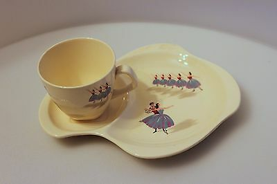 BESWICK cup and saucer set BALLET
