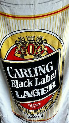 Carling Black Label Beach Towel