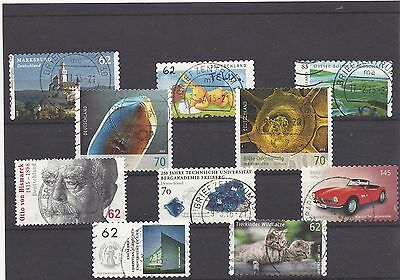 GERMANY ALLEMAGNE DUITSLAND mix commemoratives 2015 used #1