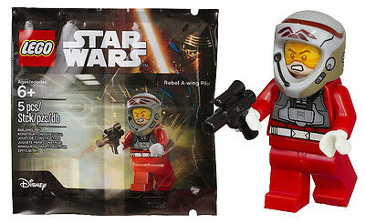 New Sealed Lego Star Wars Rebel-A wing Pilot Polybag 5004408 Rare