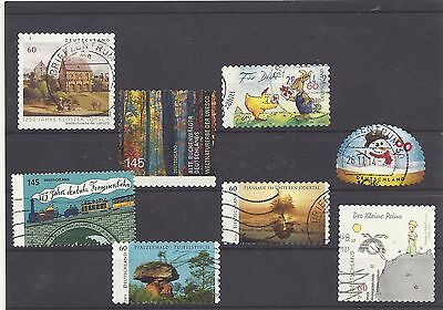 GERMANY ALLEMAGNE DUITSLAND mix commemoratives 2014 used #1