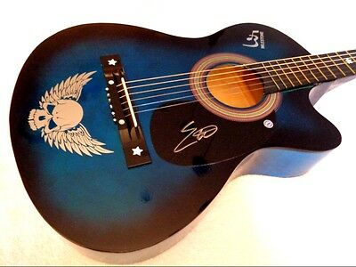 ERIC CHURCH Autographed Signed Acoustic Guitar w/ COA, NEW! - NO RESERVE!