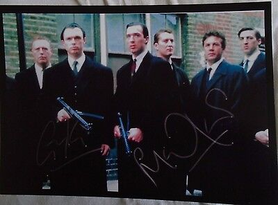 The Kray Twin's Film Starring the Kemp Brothers A4 Print Signed