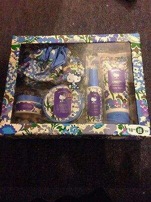 Liberty Hello Kitty Gift Set New