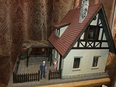 """Pola LGB 928 """"Bruckner"""" Country House, LIGHTED building G Scale 1:22.5 RARE!"""
