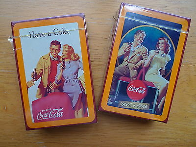 Have a Coke - Coca Cola Bridge Playing Cards - New Never Opened -Two Decks