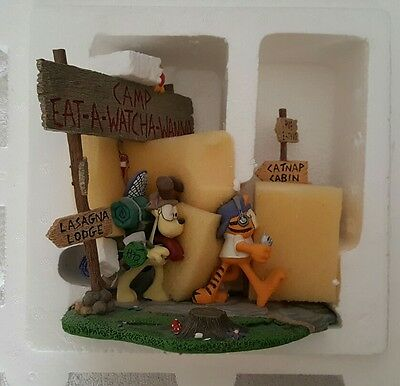 Garfield Camp Eat-a-watcha-wanna Danbury Mint new in box