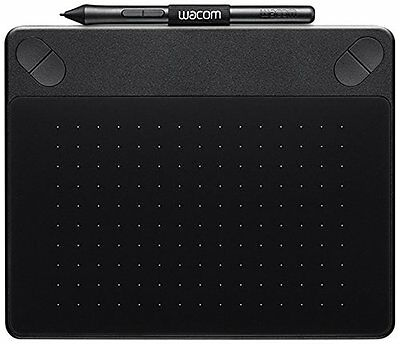 NEW Wacom Intuos COMIC Small Black Pen & Touch Digital Graphic Tablet PC & Mac