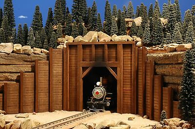 G Scale Building For Use W Lgb Accucraft Garden & F Gauge Rr Track & Locomotives
