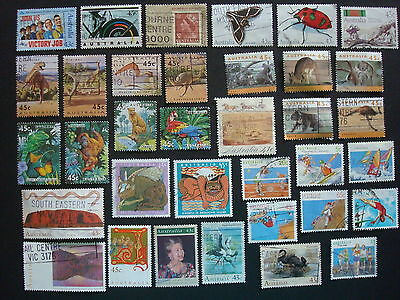 1990-1994 - 35 x Used Australian Sheet Stamps  - #2