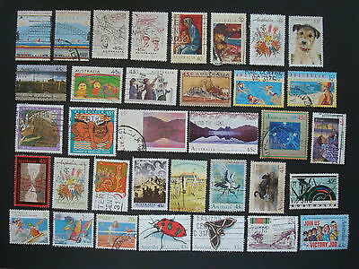1990-1994 - 35 x Used Australian Sheet Stamps  - #4