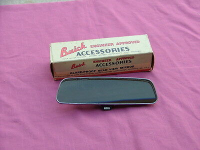 Vintage 1950's-60's Buick day/night glare-proof rear view mirror NOS! 980145