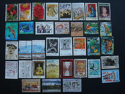 1990-1994 - 35 x Used Australian Sheet Stamps  - #10