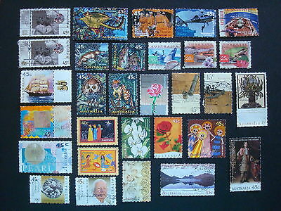 1995-1999 - 30 x Used Australian Sheet Stamps  - #3