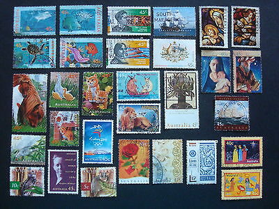 1995-1999 - 30 x Used Australian Sheet Stamps  - #4