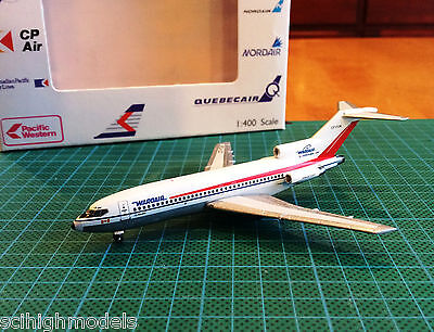 AeroClassics 1/400 Boeing WARDAIR Canada Limited B727 CF-FUN