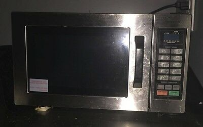 Panasonic 2100 Watt Compact Commercial Microwave Oven with 60 Programmable...