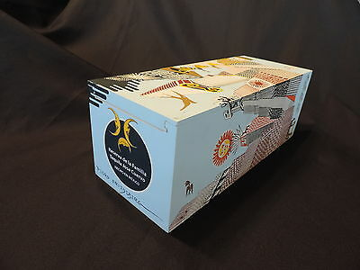 Pedro Friedeberg Artwork on Jose Cuervo Tequila Collectible Wooden Box - 2007 -