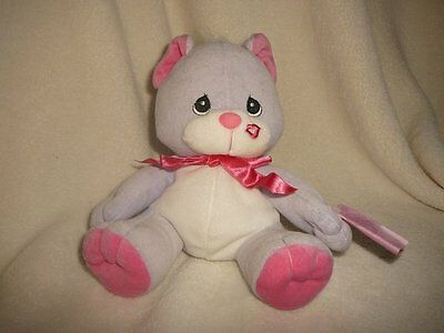 Tender Tails Cat PRECIOUS MOMENTS 1999 Plush Collectible 670200