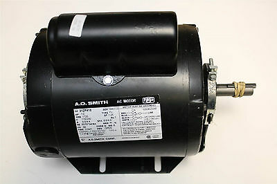 A.O. Smith 1/2hp electric motor, 115/230V, 1725rpm RB1054A, 312P418