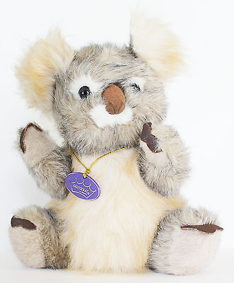 "Koala Bear Stuffed Animal Plush Aristocrat Regina 12"" Tags Toy Excellent Cond"