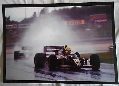 Alain Prost French Formula One Driver A4 Print
