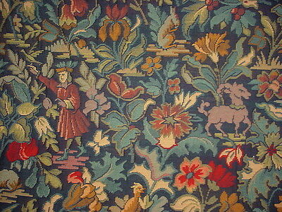2Y Brunschwig Et Fils Rambouillet French Floral Lampas Brocade Upholstery Fabric