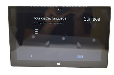 Microsoft Surface Pro 128GB Core i5  4GB RAM Wi-Fi - Black MODEL 1514  #T123