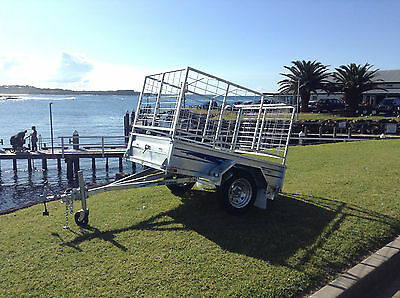 """SeaTrail, 6x4 Box Trailer, Tipper Trailer, Galvanised, New Tyres & New 13"""" Rims"""